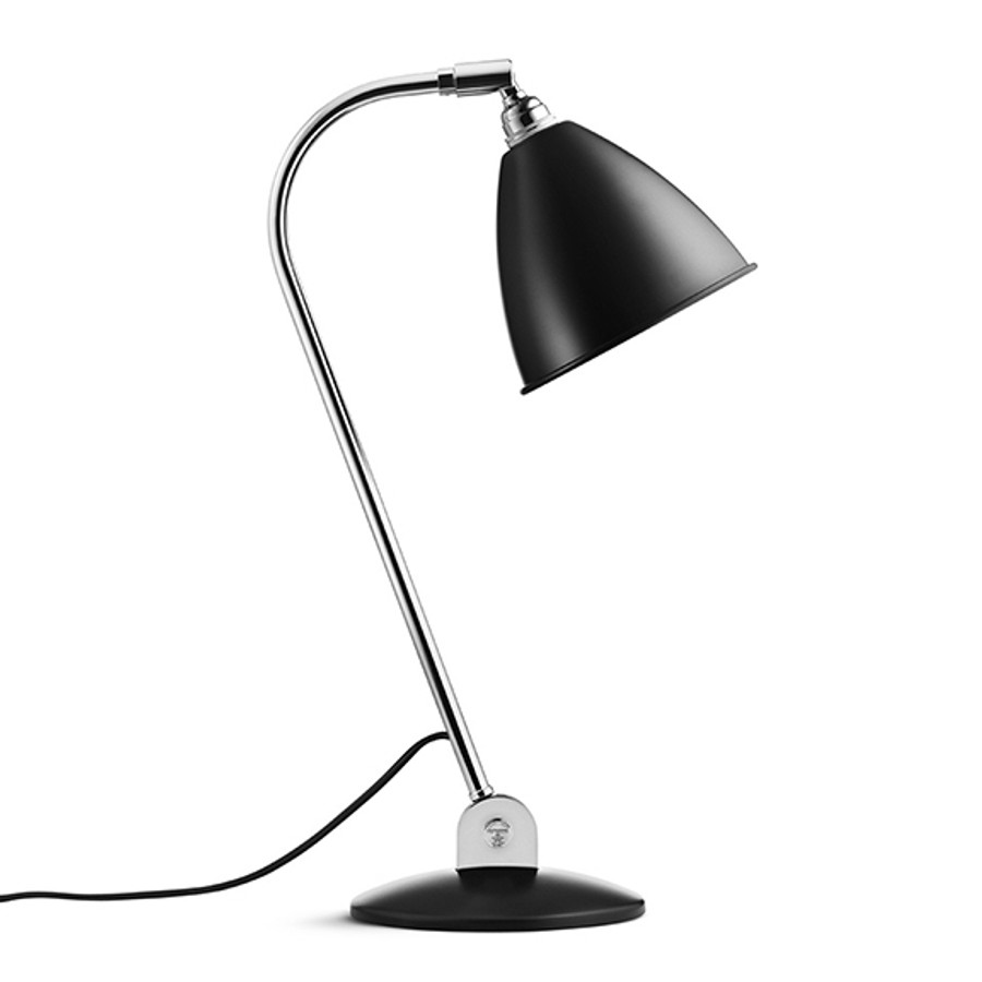 Gubi Bestlite Table Lamp BL2 in Black/Chrome