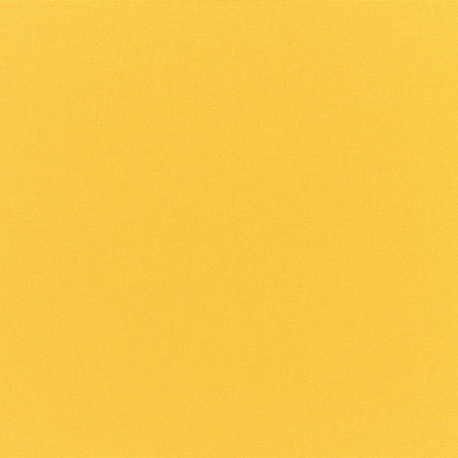 The Sunbrella Canvas Sunshine fabric boasts a lovely shade of yellow.