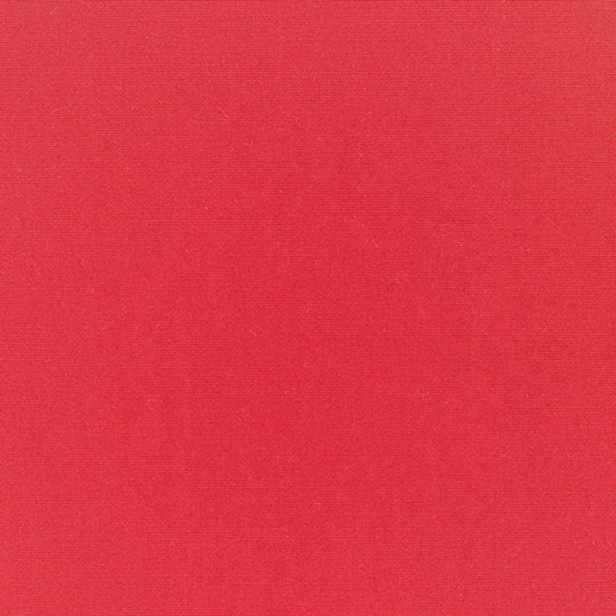 The Sunbrella Canvas Scarlet fabric boasts a lovely shade of red.