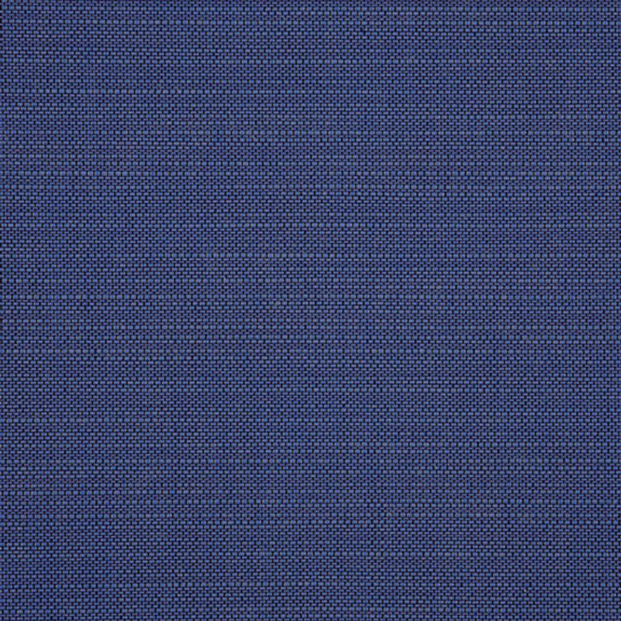 The Sunbrella Echo Deep Sea fabric boasts a beautiful shade of blue