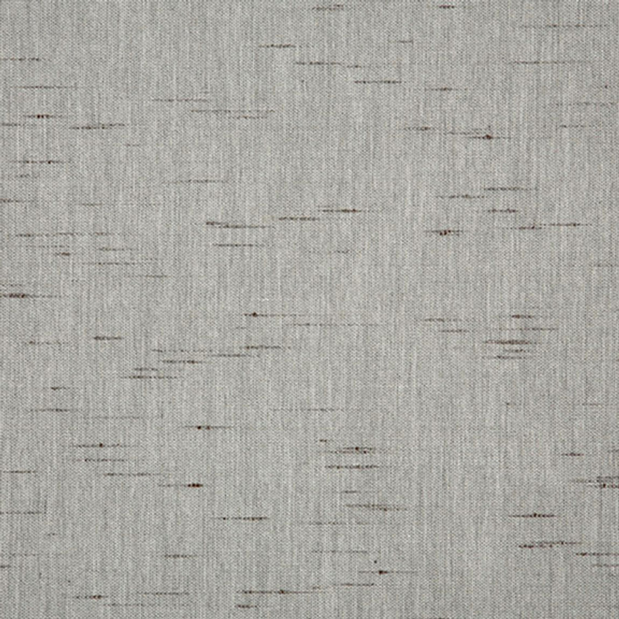 The Sunbrella Frequency Moon Dust fabric boasts a gorgeous shade of grey with brown accents