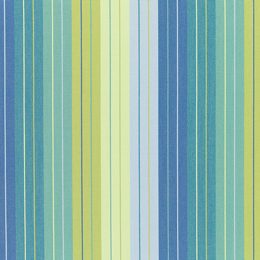 The Sunbrella Seville Rainforest fabric boasts an excellent blend of blue and green with blue/green accents