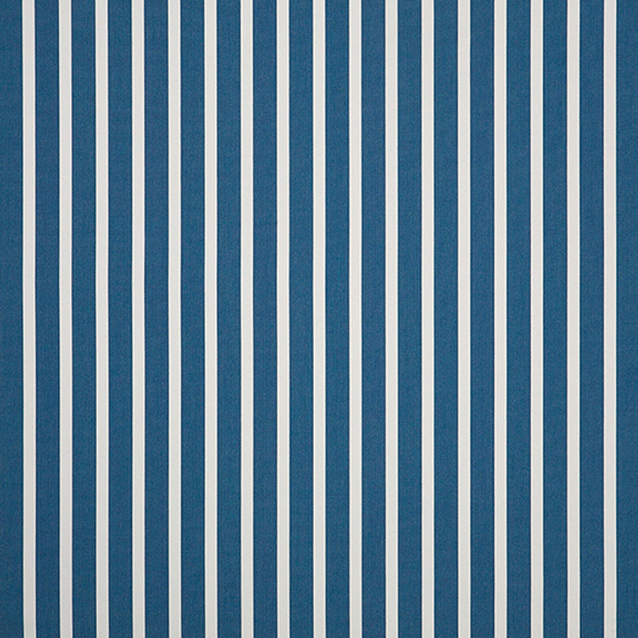 The Sunbrella Shore Blue fabric boasts an excellent mixture of blue and white