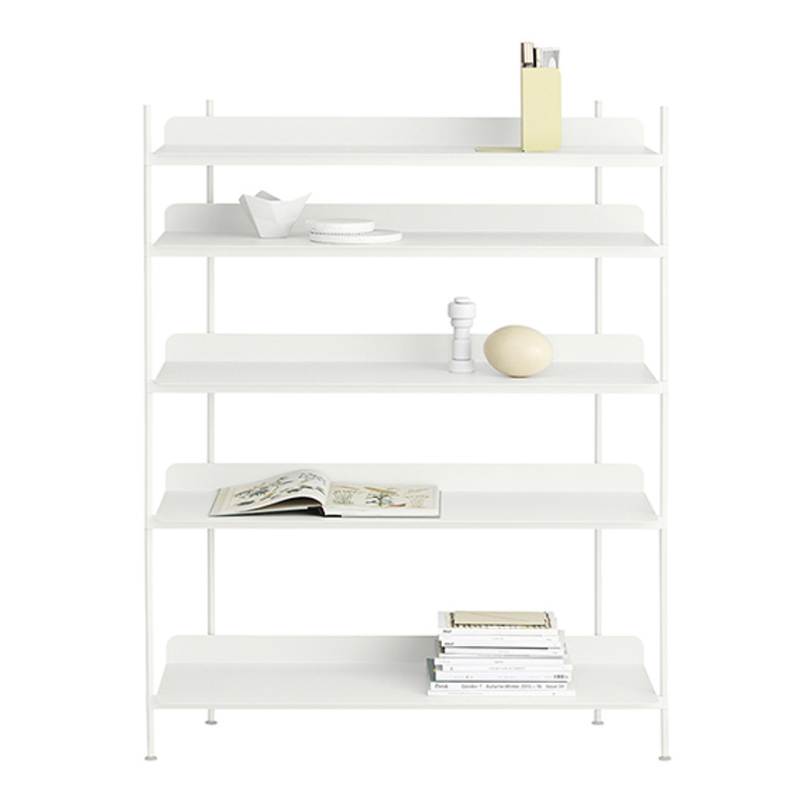 Compile Shelving System White Config 3