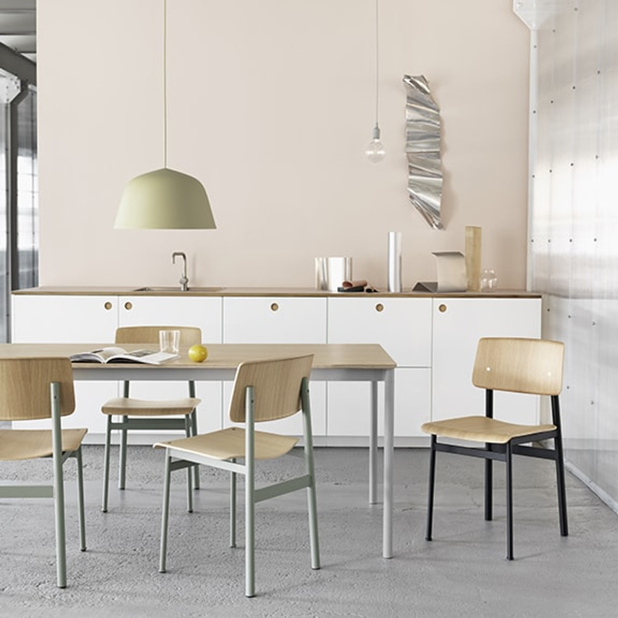 Loft Chair exemplifies honest, simple design thanks to an expression inspired by industrial design