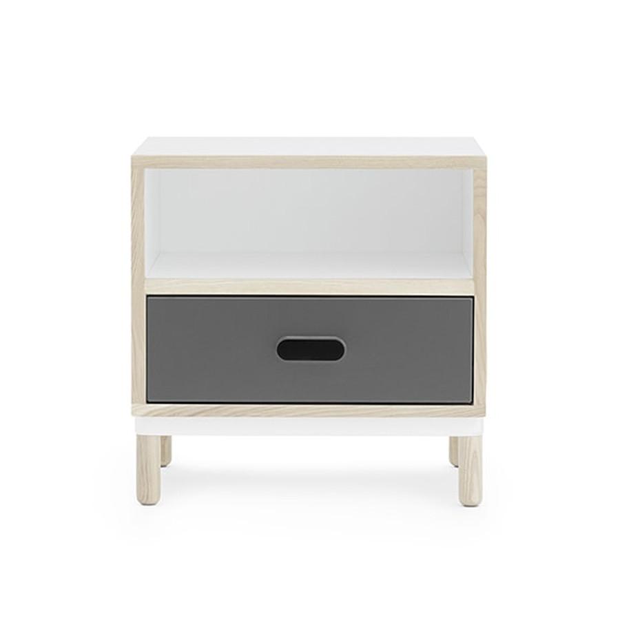 Normann Copenhagen Kabino Bedside Table in grey