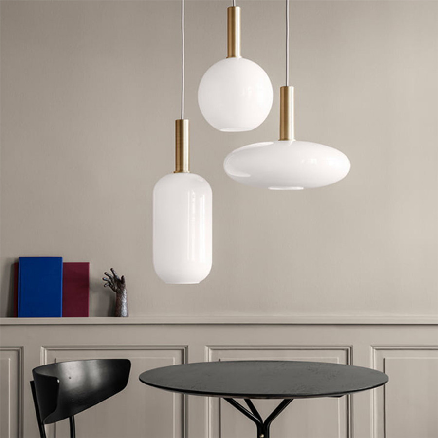 Ferm Living Opal Shade Sphere and Tall