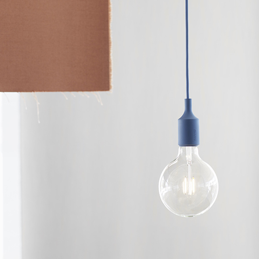 Muuto E27 Pendant in Pale Blue