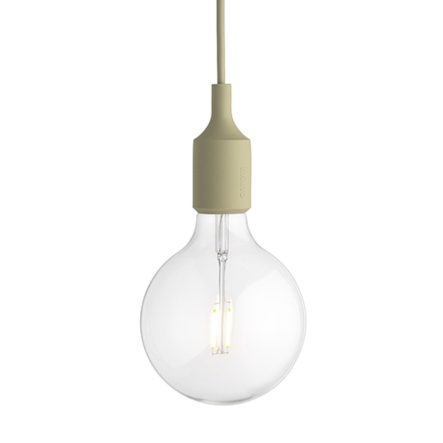 Muuto E27 Pendant in Beige-Green