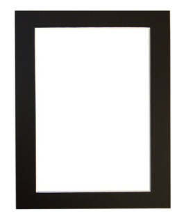 Pack of 25 or 50 mounts in Black, White or Ivory in a range of sizes
