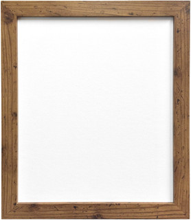 FRAMES BY POST H7 Rustic Oak Picture Photo Frame 25mm Wide