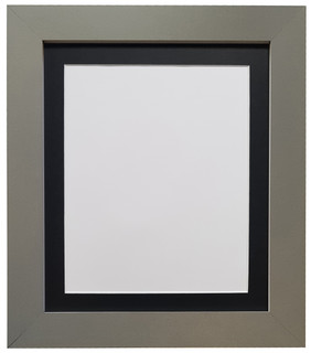 FRAMES BY POST Metro Dark Grey Photo Frame with Mounts