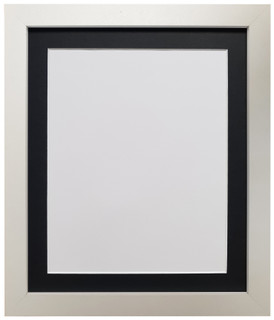 FRAMES BY POST H7 White Picture Photo Frame with Mounts