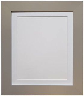 FRAMES BY POST Metro Light Grey Photo Picture Poster Frame with Black, White, Ivory, Blue, Pink, Light