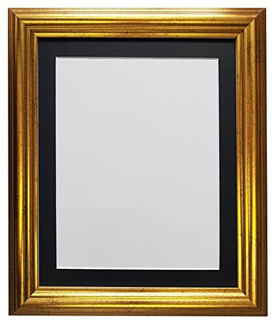 FRAMES BY POST 48 Gold with Black, White, Ivory, Blue, Pink, Light and Dark Grey Mounts