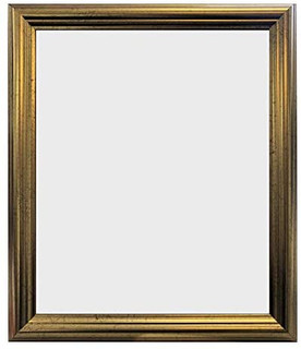 FRAMES BY POST 48 Pale Gold Picture Photo Frame