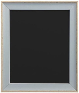 FRAMES BY POST AP-3016 Beach Hut Blue Picture Photo Frame With Black,White,Ivory, Pink or Blue Backing Board