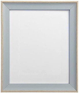 FRAMES BY POST AP-3016 Beach Hut Blue Picture Photo Frame in Various Sizes