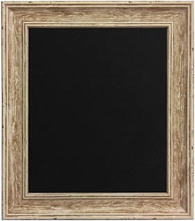 FRAMES BY POST Scandi Distressed Wood Picture Photo Frame With Black,White,Ivory, Pink or Blue Backing Board