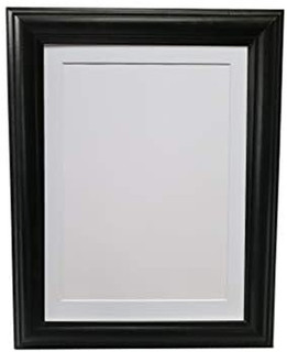 FRAMES BY POST 1 Inch H1 Black Photoframe With Black, White or Ivory Mount