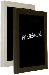FRAMES BY POST H7 Black and White Framed Chalkboards in Various Sizes
