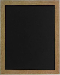 FRAMES BY POST 25mm wide H7 Oak Picture Photo Frame 25mm Wide with Black, White, Ivory, Pink and Blue Backing Board