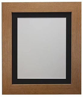 FRAMES BY POST Metro Oak Frame with Black Mount