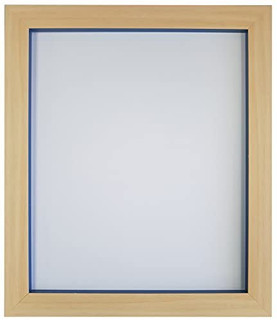 Magnus Beech with Cobalt Blue, Teal Blue, Dark Grey, Red, Orange and Green Picture Photo Frames
