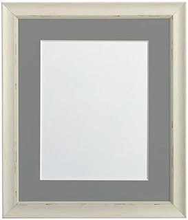 FRAMES BY POST Nordic Pale Grey Photo Frame with Light Grey Mount