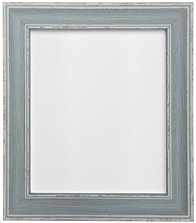 FRAMES BY POST Scandi Vintage Distressed Blue Picture Photo Frame