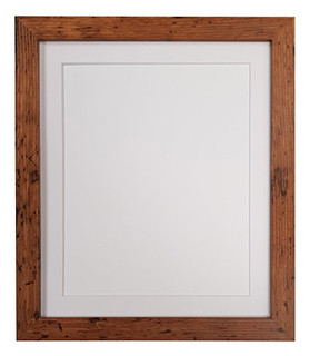 0721S5846J3 | FRAMES BY POST H7 Vintage Wood Picture Photo Frame with White, Black, Ivory, Pink, Blue, Light Grye and Dark grey mounts