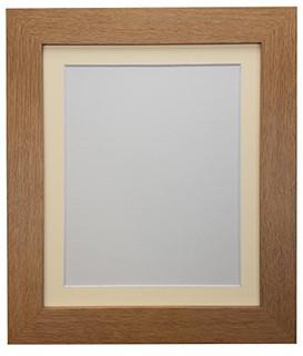 0317ODK1OK3 | FRAMES BY POST Metro Oak Frame with Ivory Mount