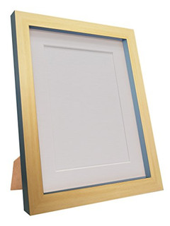 0410U4ECQ33 | Magnus Beech with Dark Grey Picture Photo Frames with White Black Ivory Pink Blue Light Grey and Dark Grey Mounts
