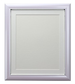 FRAMES BY POST Soda Lilac Picture Photo Frame with Black, White, Ivory, Blue, Pink and Light and Dark Grey Mounts