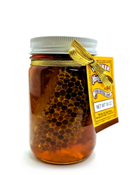 Premium Cut Comb Honey  (1 lb)