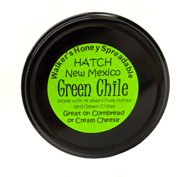 Hatch Green Chile Creamed Honey
