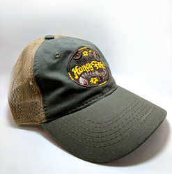 Mesh Backing Cap - Walker Honey Farm Logo