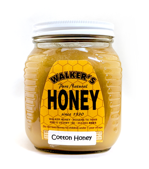Creamed Cotton Honey 2.5 lbs