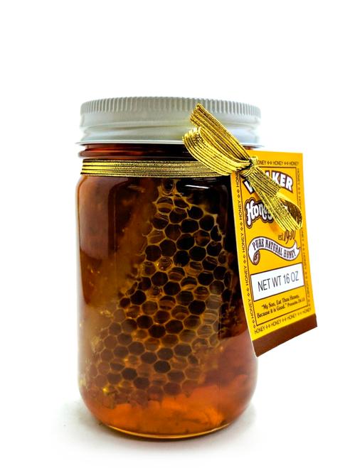 Premium Cut Comb Honey  (1 lb)