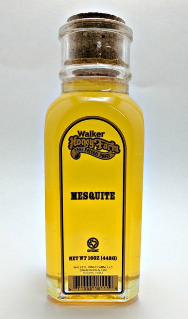 1 lb Mesquite Honey Muth Jar
