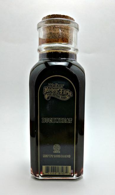 1 lb Muth jar of Buckwheat Honey