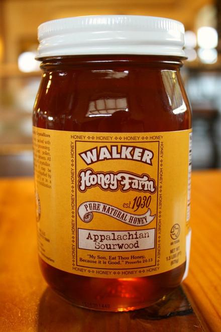 A pint of Sourwood honey.