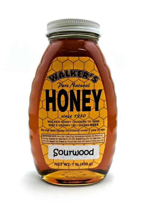 1 lb Sourwood Honey