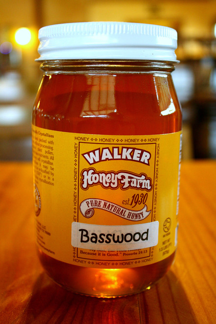 A Pint Of Basswood Honey