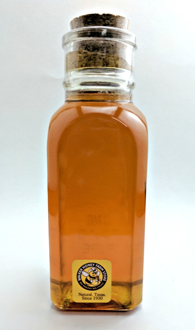 1 lb Glass Muth Jar - South Texas Brush Honey
