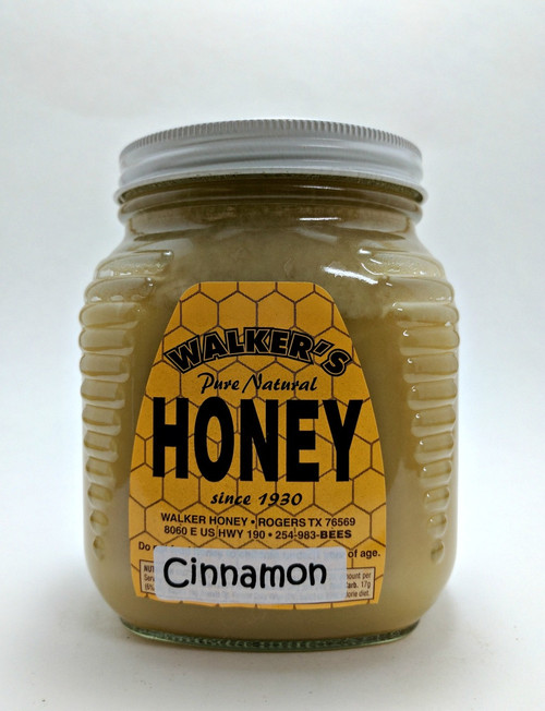 Cinnamon Creamed Honey 2.5 lb *New, Zesty Cinnamon Flavor!*