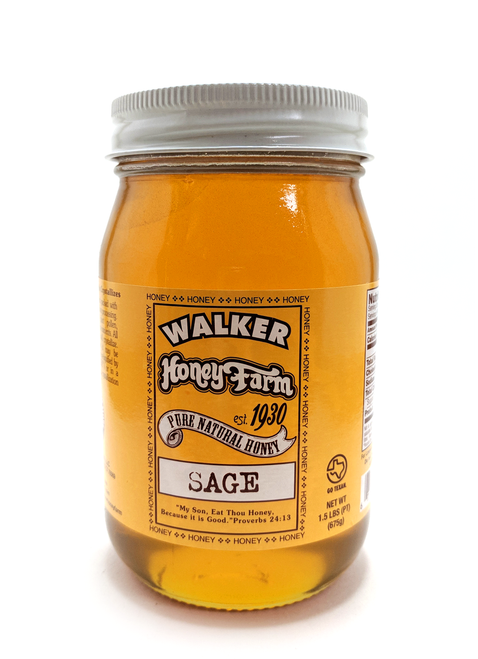 Sage Honey Pint