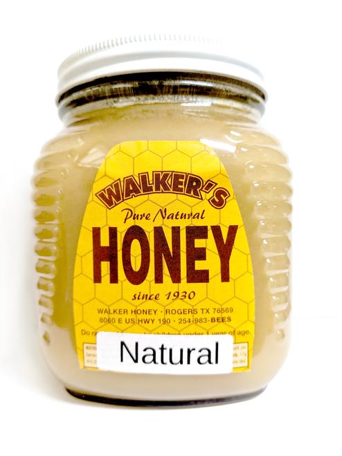 Natural Creamed Honey 2.5 lb