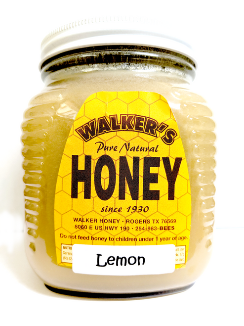 Lemon Creamed Honey 2.5 lb