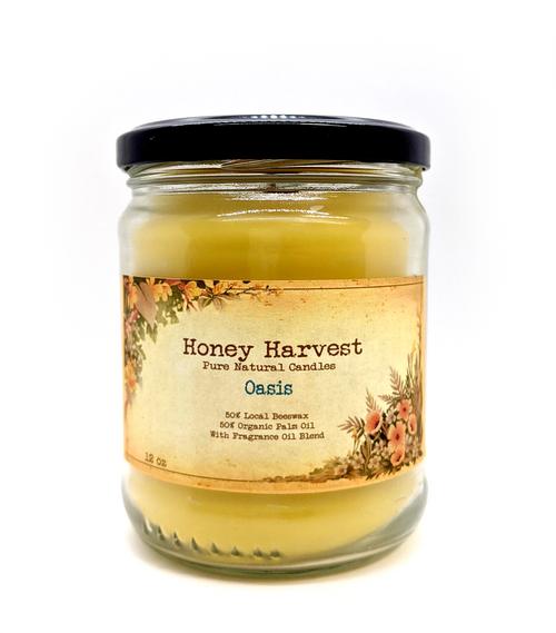 Oasis Candle Jar